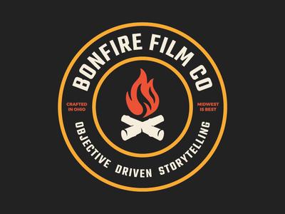 Bonfire Film Co. Logo Redesign