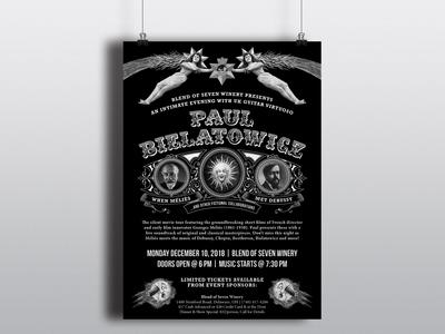 Paul Bielatowicz Tour Poster & T-Shirts