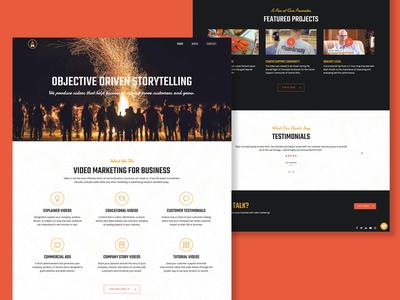 Bonfire Film Website