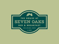 The House at Seven Oaks Logo & Signage