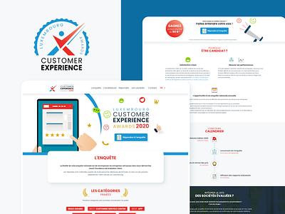 CX Awards Luxembourg website design web graphic branding logo webdesign identity