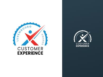 Logo CX Awards luxembourg customer experience awards vector identity illustration design branding logo