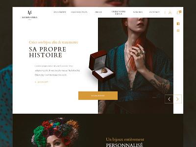 Maison Vitola identity web e-commerce webdesign
