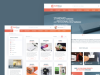 Catalogue intranet website