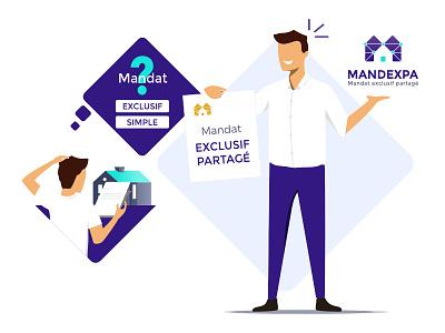 Illustration Mandexpa graphic design illustration