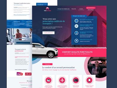 Taxi website web graphic webdesign identitiy design website