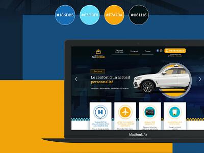 Taxi Richard design ui graphic  design webdesign