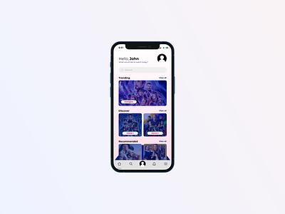 Daily UI #022 search search bar branding logo illustration figma dailyui ui interface experience interface design design app