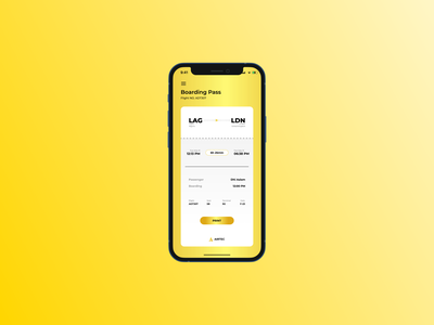 Daily UI #024 plane airline ticket boarding pass branding logo illustration figma ui dailyui interface experience interface design design app