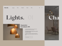 Interior Design - Landing Page Exploration