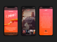 Kinopoisk 2018 Year in Review Mobile