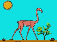 Gerenuk X Flamingo
