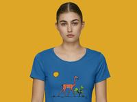 Gerenuk X Flamingo Shirt