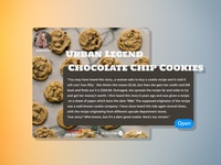 Recipe Card UI