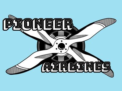 Airline logo concept dailylogochallenge logodesign illustration art logo brand vector lettering identity type minimal clean branding typography ux color ui design