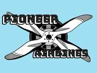 Airline logo concept
