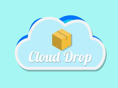 Cloud Computing Logo type art illustration logo brand vector lettering identity web minimal clean typography branding ux ui color design