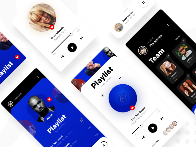 🎚️Music Player Concept UI 🎶