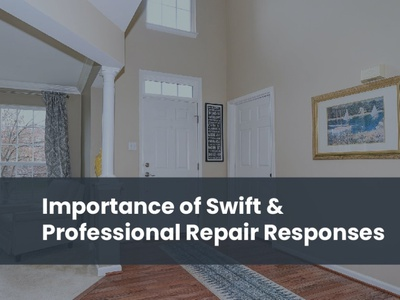 Importance of Swift & Professional Repair Responses residential property management