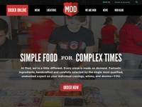 Mod Pizza Redesign Concept