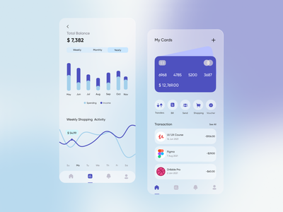 Wallet app ui desgin ux mobile ui mobile app transaction app ui deisgn ui finance finance app mobile blur design blur finances money app financial app banking bankingapp wallet walletapp