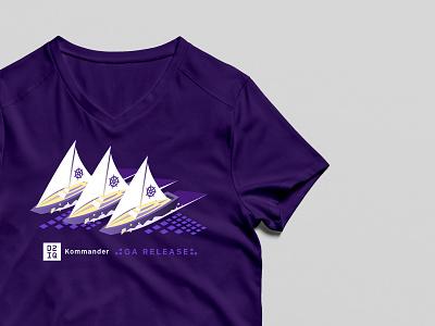 D2iQ Kommander Tshirt Design tshirts visual design