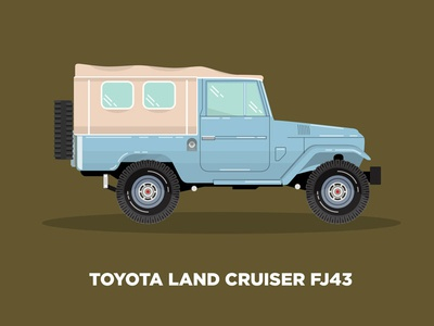 Vector Vehicles 02 blue land cruiser toyota automobile auto truck car