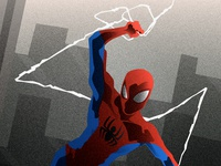 Spiderman WIP Close-Up