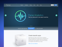 New Parse homepage