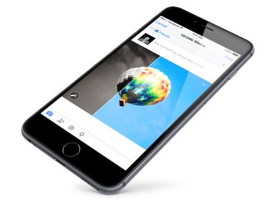 Facebook Filters swipe ui filters photos facebook