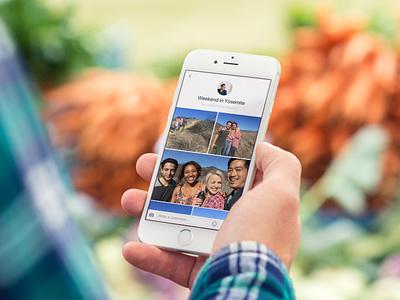 Facebook Collage ui ux collage design facebook