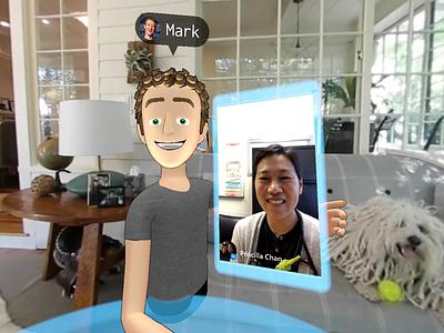 Facebook Social VR reality virtual avatars avatar demo facebook social vr