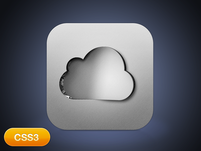 Cloud Factory [CSS3 animation] cloud icon parse factory ios aluminium