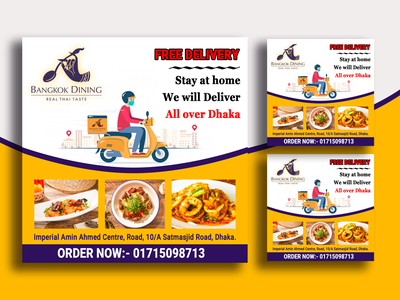 Template design food poster facebook ads food template food banner instagram post poster design template design template ads banner graphic design