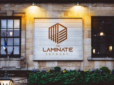 The Laminate Company Branding graphic design illustrator icon minimal branding vector illustration design logo