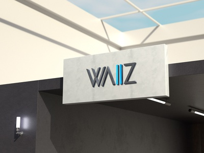 WAIIZ Branding typography illustrator branding graphic design logo design