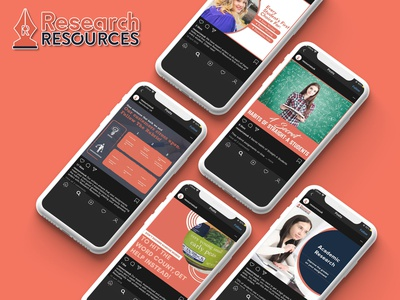 Social Media Marketing for Reseacrh Resources social media marketing agency bundle kit social media design socialmedia social media marketing