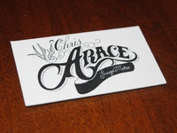 Chris Arace Letterpress