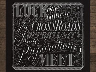 Luckposter