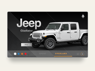 Jeep Selection Page