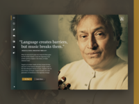 Fluent Design Web Application Cocnept