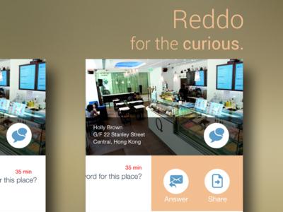 ReddoApp - Slide transition