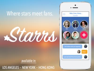 Starrs - Where stars meet fans.