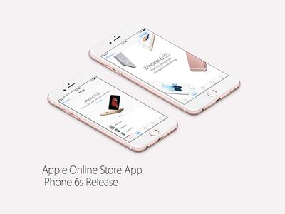 Apple Online Store app update