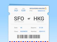 Flightticket 3x