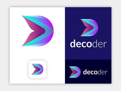 D abstract letter logo design 3dlogo graphicdesign ux illustration logo vector brandingdesign digitalart artwork 3dabstractlogo d logo d