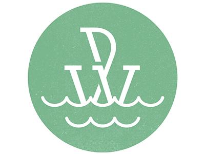 New Wilhelm Design logo logo monogram sailing water