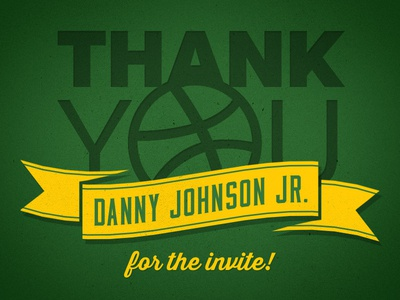 Much Thanks Danny! thank you sonics seattle supersonics basketball