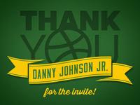 Much Thanks Danny!