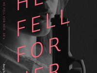 He Fell for Her .38's by Rorry East - Book Cover Design